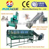 Garlic shelling breaking/garlic clove sorting machine for agriculture machine garlic farm