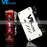 vapecige latest temp control mod VTbox200 VT200 with authentic DNA 200 chip, VT box 200W