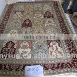 hand craft Turkey double knotted collectable portable prayer rug