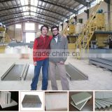 High sale concerte foam fiber insulation panel machine