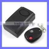 9V Battery 120DB 433MHZ Remote Control Vibration Door Window Alarm