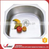 China manufacturer custom size 304 stainless steel undermount bathroom sinks home depot