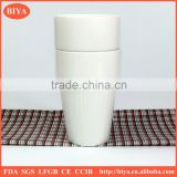 water cup hot selling fancy white porcelain round stacked coffee stripe cup no handle tea and new bone china milk mug