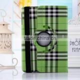 2 in 1 rotating pu flip leather case for ipad air 2 stand case