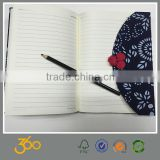 binding cloth hard cover notebook with thick paper, diary notebook