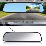 "Car Monitor 4.3"" Screen TFT LCD Color Rearview Mirror Monitor Reverse Car Rear View Backup Camera DVD 12V"