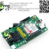 GSM GPRS modules with GPS/Phone Shield SIM908 EARPHONE gsm gps