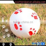 Custom Logo 95mm Squeaky Vinyl Ball, Dog Toys Ball - Everfriend