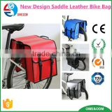 Biking Touring Brand New Leather Saddle Bags