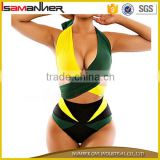 Fancy colors big chest women swimwear mature women brizilian bikini plus size swimsuit                                                                                                         Supplier's Choice