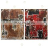 Handpainted Fashion Emulational Artwork Decor Door Art