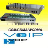 New!!!!8 channels 32 ports GSM/CDMA/WCDMA SIP gateway gsm mobile phone gateway