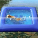2015 water inflatable dog pool for spa