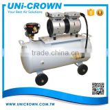UN-100VT 650torr 100LPM Oilless Central Vacuum pumping system with 30L tank