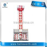 Professional frequency building hoist 0-63m/min Building elevator Hoist for lifting people