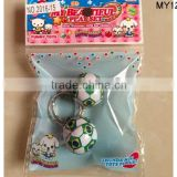 Wholesale football metal keychain, soccer shape key chain for sales custom shaped accept