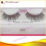 human hair false eyelash private label long thick eyelash in human hair