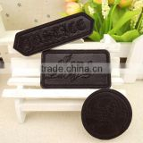 Leather repair patch affixed buiter clothing supplementary material badges applique adornment with back rubber cloth paste