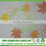 Made in China Factory Cheap Price Custom Square Printed Nonwoven Fabric Restaurant TableCloth