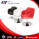 2015 PU leather chromed leg and base bar stool