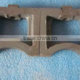 competitive price Cushion block for test bench made of steel