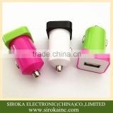 Mobile phone use colorful mini micro usb travel car charger adaptor for Samsung Galaxy Tab