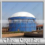 Double Membrane Digester Tank Roof for Storage of the Biogas