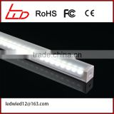 2016 Hot sale silm corner shape led aluminum profile for wide 10mm led strips light to decorate the cabinet.