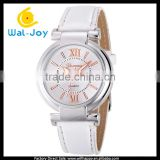WJ-5338 2016 fashion charming multicolor best selling Geneva leather strap women watches