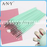ANY Nail Artist Using High Quality Wood Handle 15 PCS Nail Brush Set