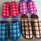 customized colors cotton fabric man bathroon slipper wholesale 2015 alibaba fashion women bathroom slipper hot selling