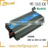 Newest Pure Sine Wave Grid Tie Inverter 1000W MPPT Function, 10.5-28VDC Input to 110V/220VAC Output Micro Inverter 1KW