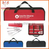 Hot Selling Portablee Stainless Portable Barbeque Tools Set In Case
