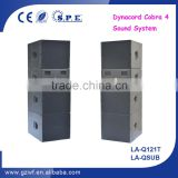 SPE Audio Powerful Outdoor Sound System Professional Dynacord Cobra Speaker Sytem LA-Q121T with LA-QSUB                                                                         Quality Choice