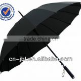 umbrella factory in china specialized in auto open and close windproof umbrella with company logo