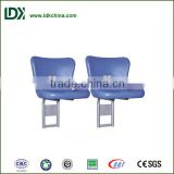 Outdoor training field good quality floor mounted light weight durable injection molding chair for sale