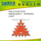multi-function emergency triangle car warning light