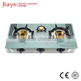 Table Gas hob with 7mm Tempered glass/ 3 brass burner Gas stove