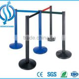High Quality Retractable belt Barrier Crowd Control Stanchion Stainless Steel Crowd control Post