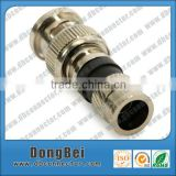 coaxial cable rg58 bnc male twist on connector