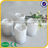 Hot sell advertising cheap battery taper candles
