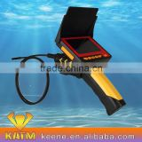CCTV underwater pipe inspection surveillance system