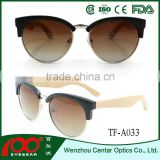 Newest design high quality brand designer sunglasses , wood polarized sunglasses , Bamboo sunglasses
