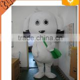 2015 hot sale cheap popular plush dog cartoon character mascot costumes / dog costume for adults for promotion