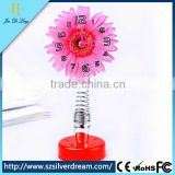 2014 Flower Desk Table Basketball Shot Clocks Lighted Table Clocks