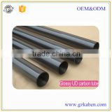 Selling well high quality glossy carbon fiber tube price carbon fiber telescopic tube 100mm factory