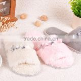 2016 Fashion Desing of Indoor Winter Slipper for Men and Women slipper/Winter Sheepskin slipper