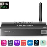 2016 cheap KODI box Android 5.1 tv box Octa core 4k 1080p iptv 3D HDR 2GB/16GB smart tv box over the top streaming Manufacturer