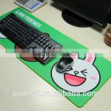 giant keyboard card game play mat rubber backing