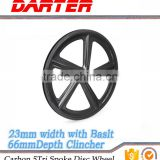 Top quality wholesale cheap 5 spoke track bicycle wheel